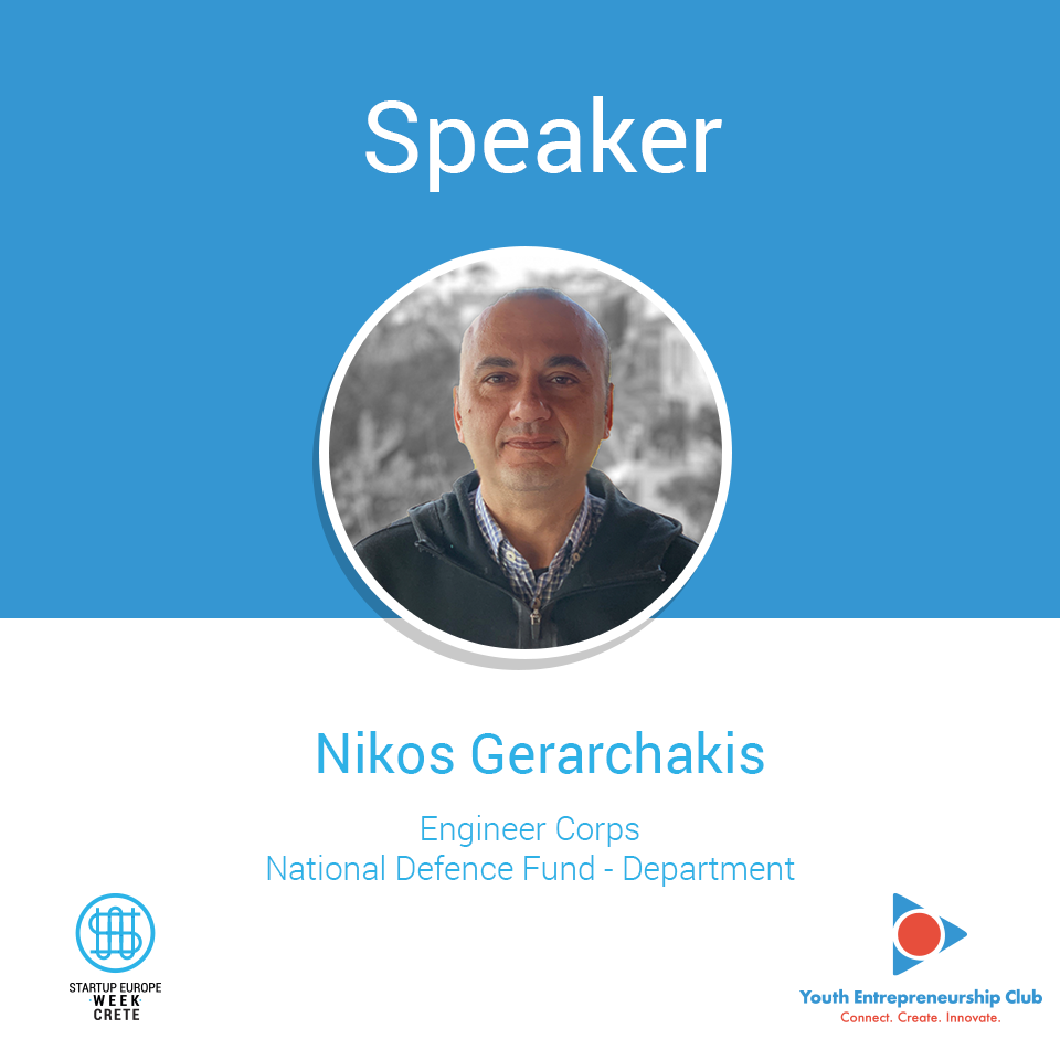 Nikos Gerarchakis, Startup Europe Week Crete