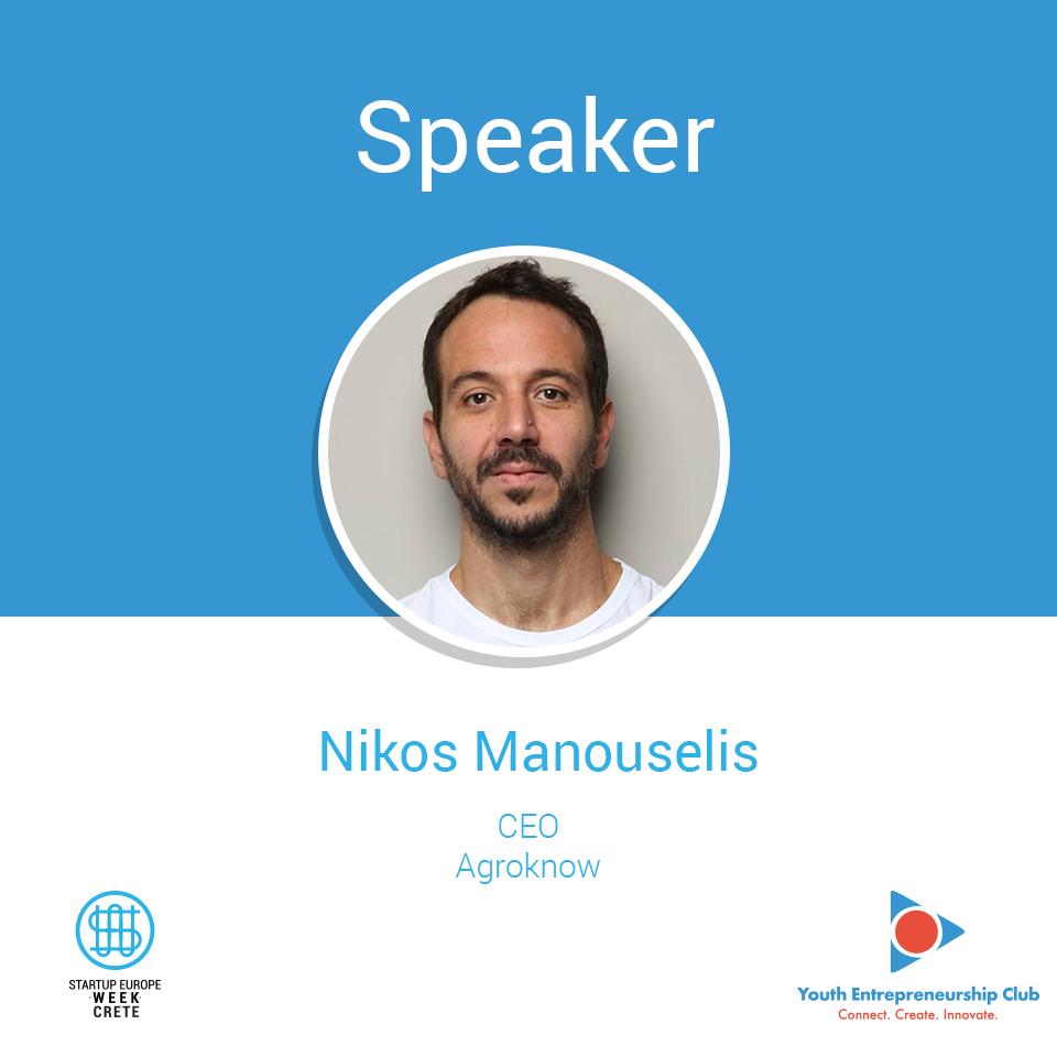 Nikos Manouselis, Startup Europe Week Crete