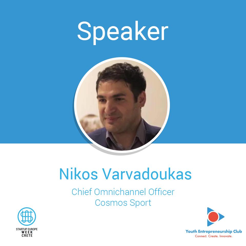 Nikos-Varvadoukas,-Chief-Omnichannel-Officer-@-CosmosSport-_-Speaker-@-Startup-Europe-Week-Crete,-Heraklion-2018