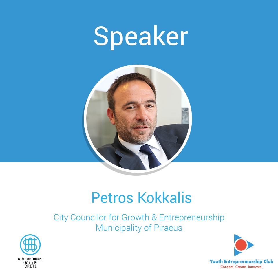Petros Kokkalis, Startup Europe Week Crete
