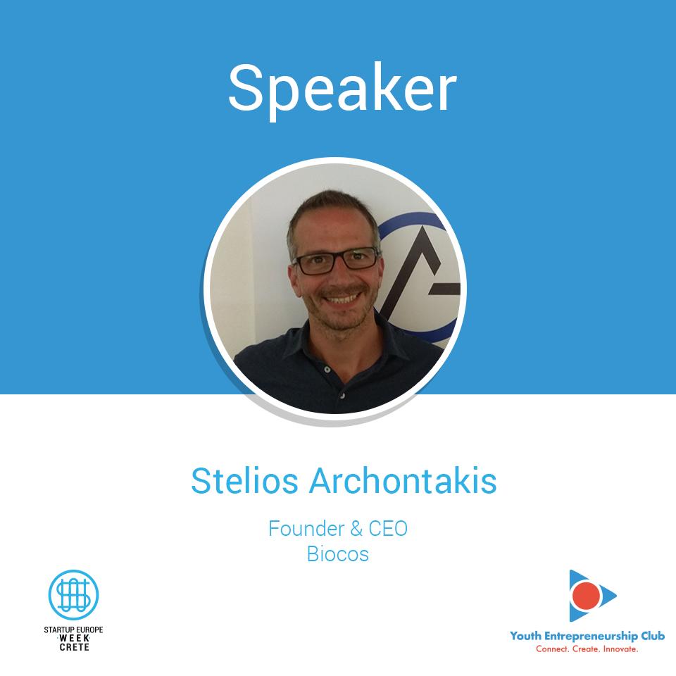 Stelios Archontakis, Startup Europe Week Crete