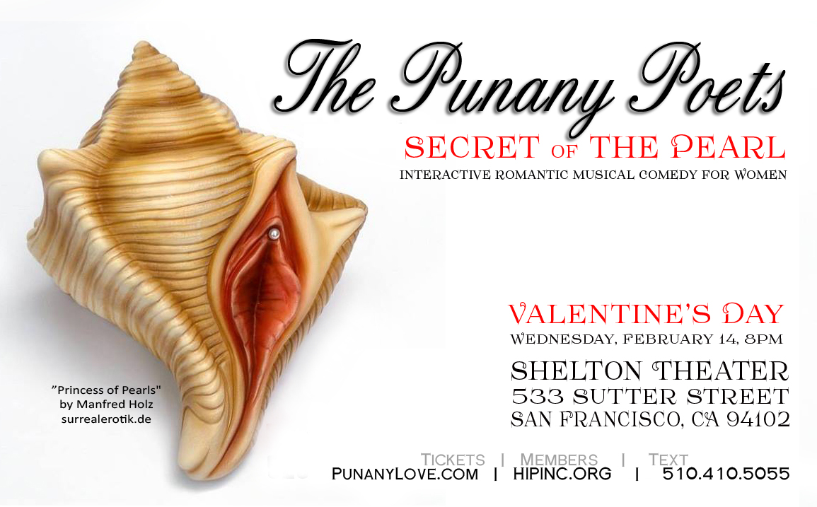 The Punany Poets in San Francisco on Valentine's Day