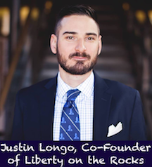 Justin Longo, Co-Founder of Liberty on the Rocks