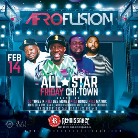Nba All Star Friday 2020 Chicago Afro Fusion Renaissance