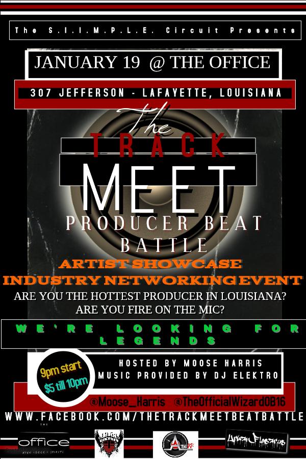 The Track Meet Lafayette - January