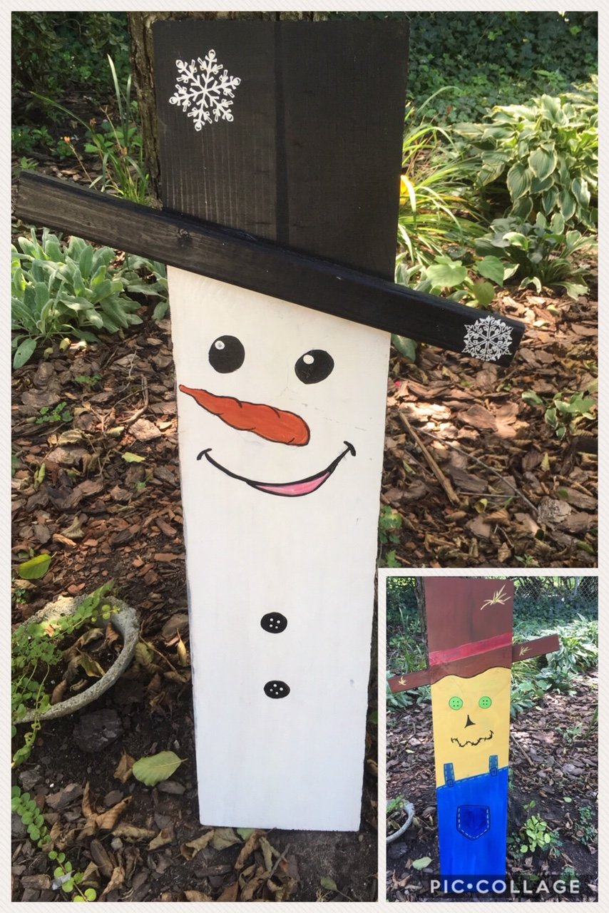 snowman/scarerow