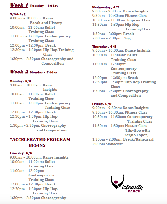 The Schedule