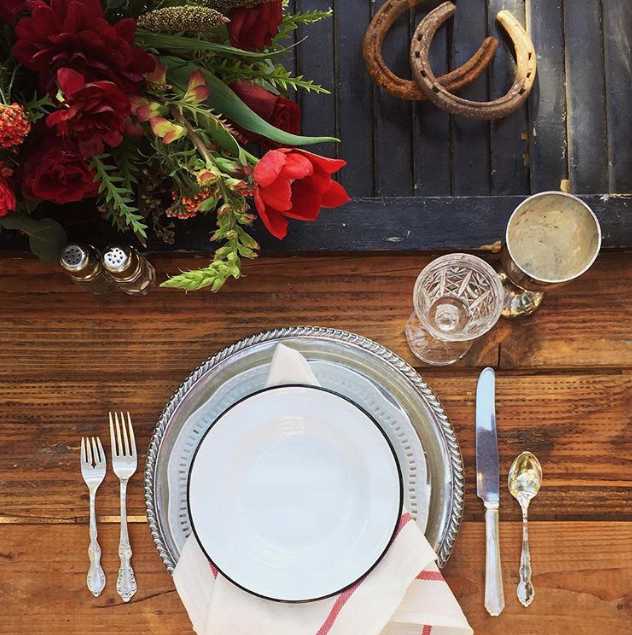casual tablesetting by crosby and jon workshop