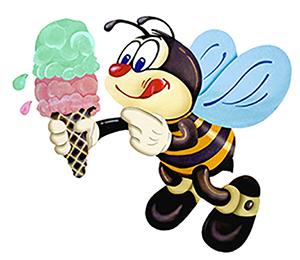 Honey Hut Logo