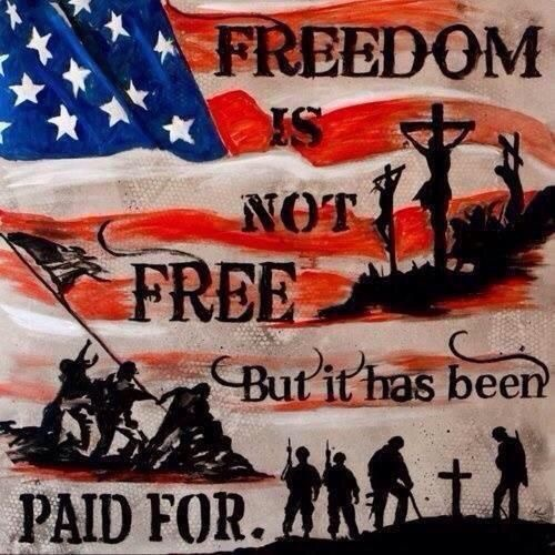 They paid with lives for US all!