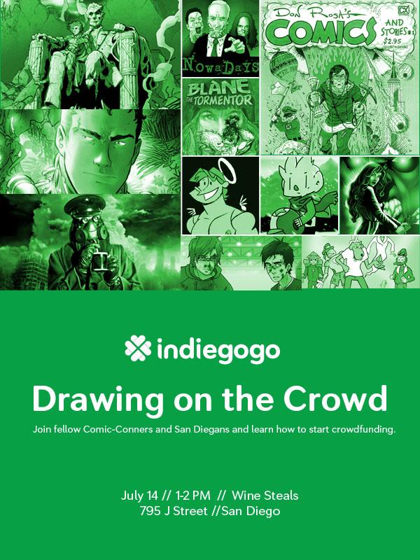 Indiegogo Comic-Con Panel