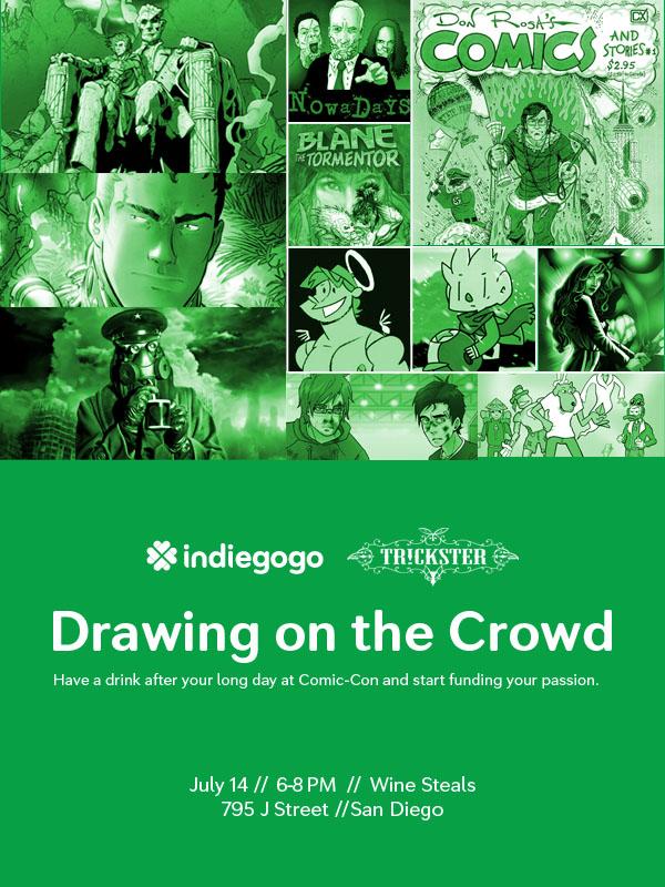 Indiegogo Comic-Con Meetup