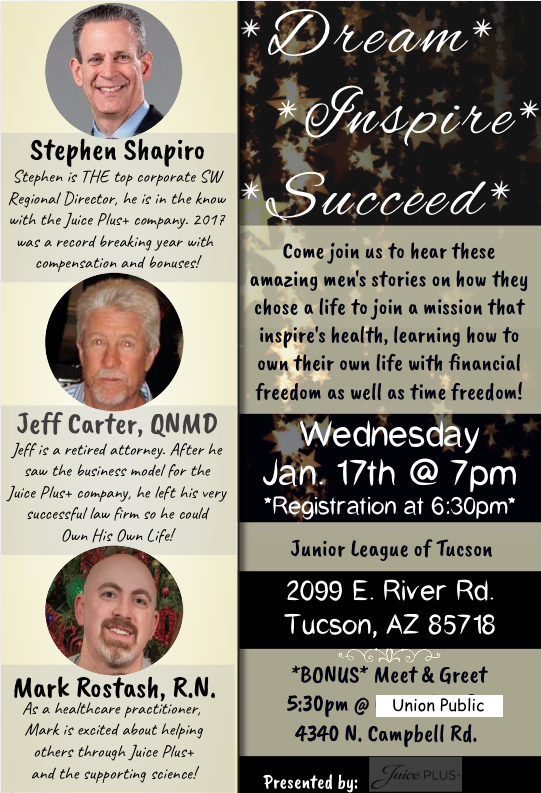 Wed. Jan 17th 7 pm