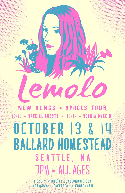 Lemolo Show Poster
