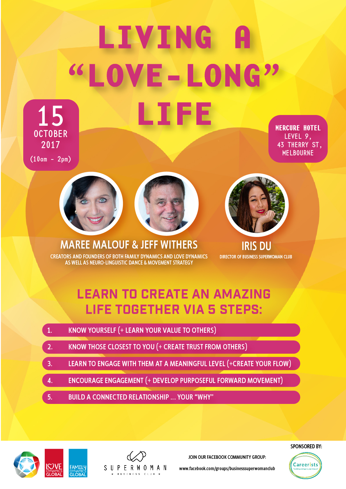 Living A Love-Long Life Flyer