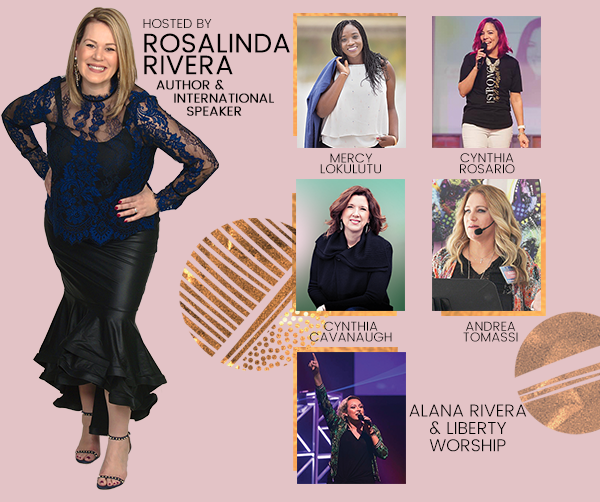 Bella Women's conference speakers rosalinda rivera