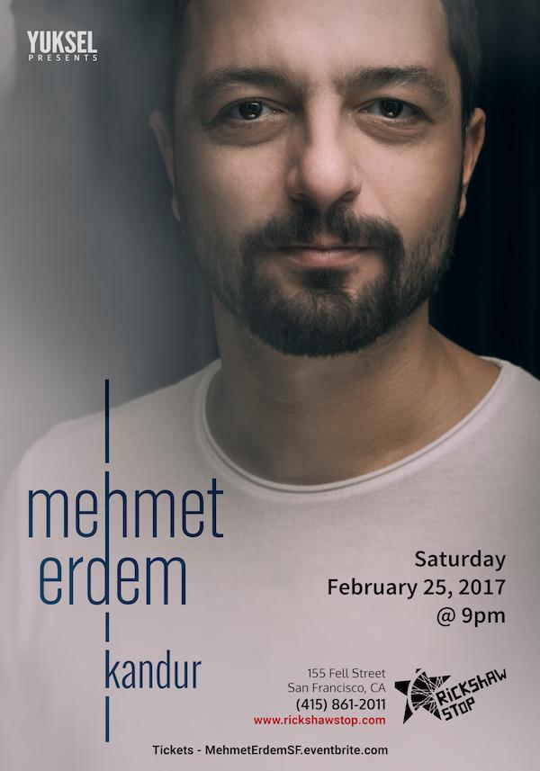 Mehmet Erdem San Francisco 2017