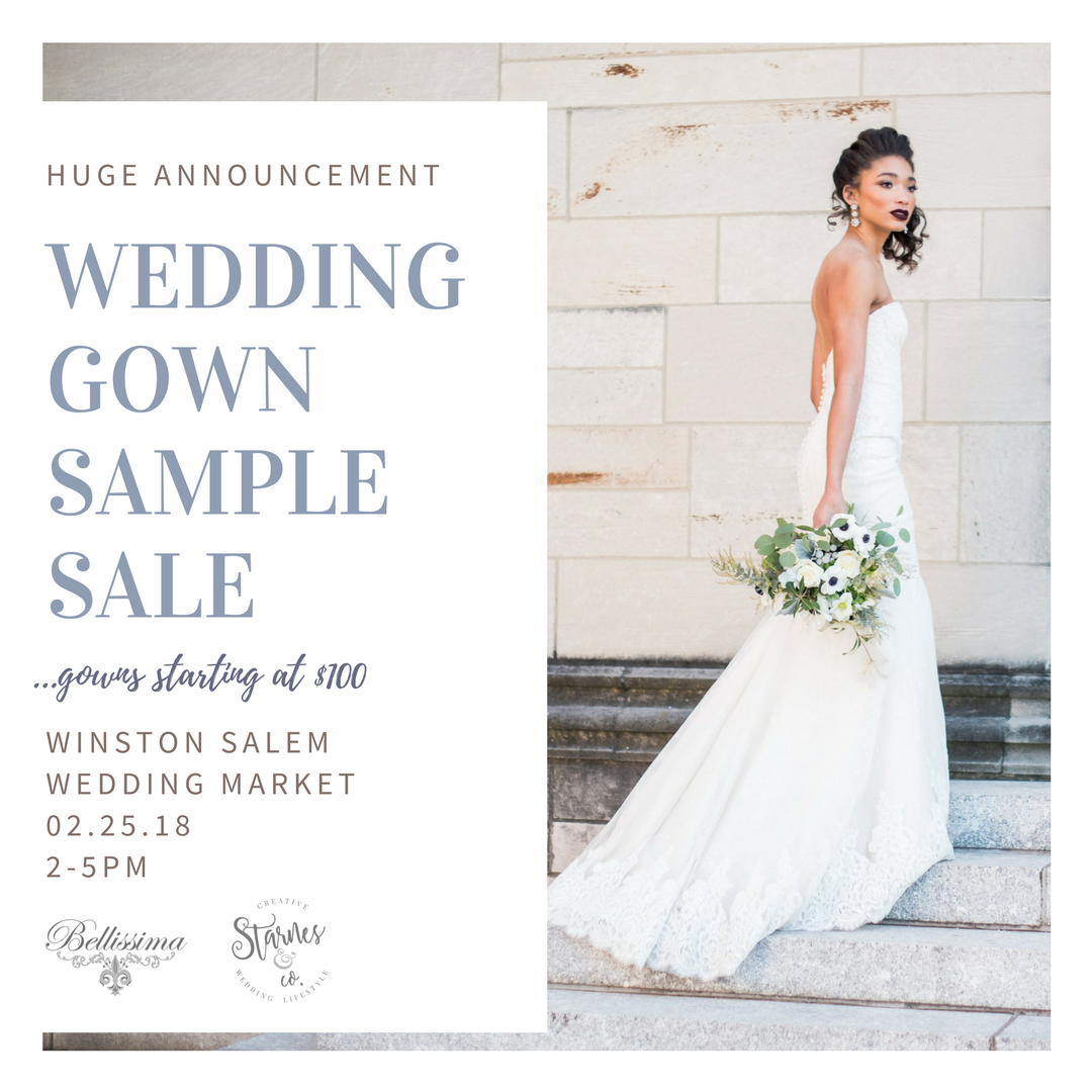 Sample Sale: Wedding Gowns