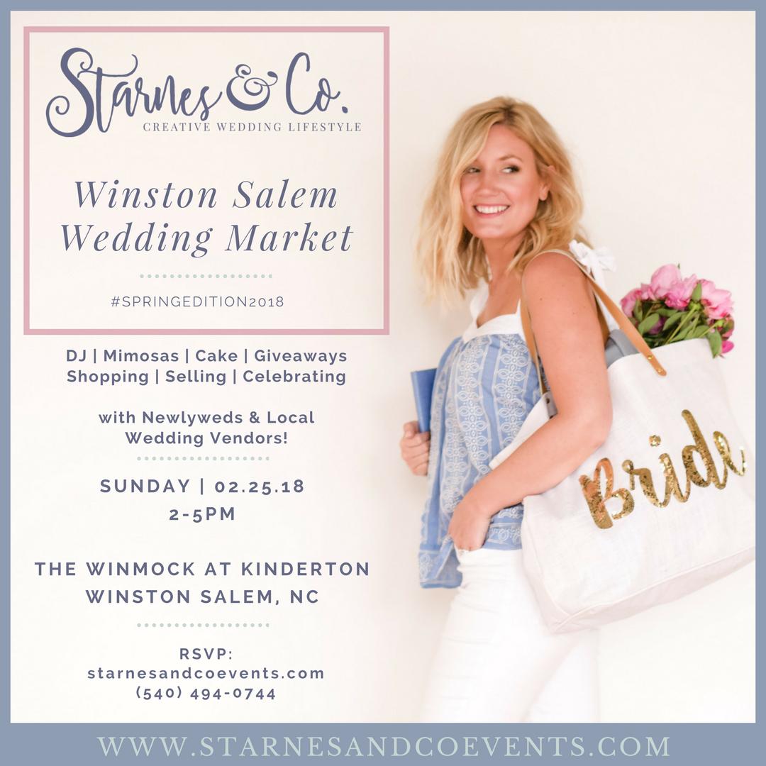 Starnes and Co Winston Salem Wedding Market