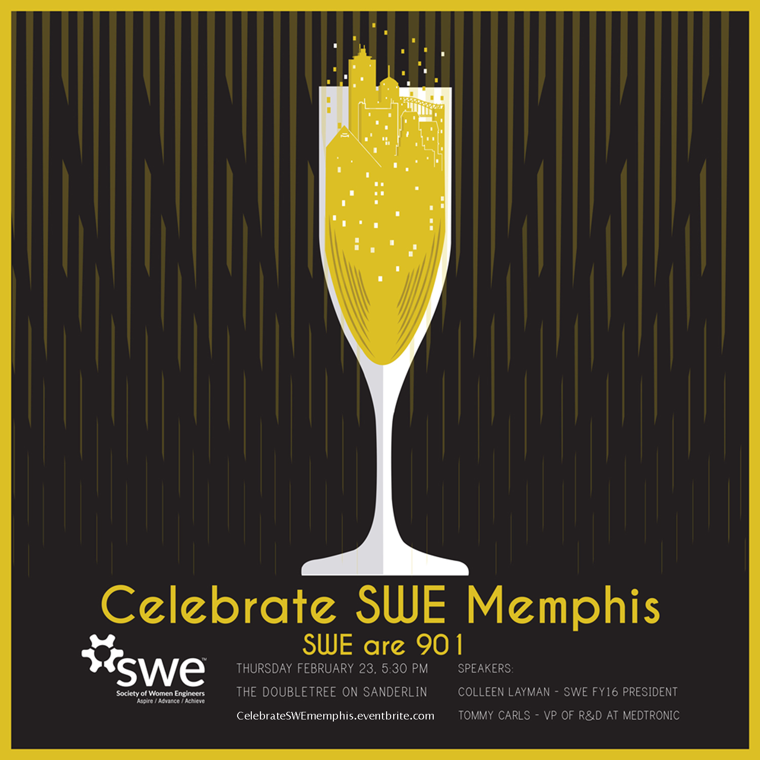 Celebrate SWE Memphis flyer