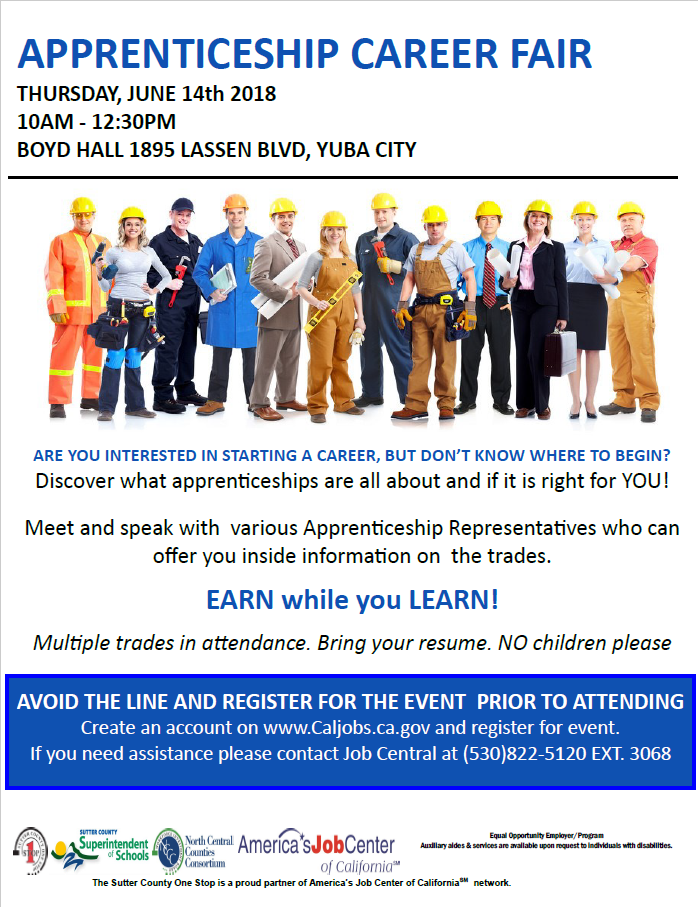 Apprenticeship Career Fair - 14 JUN 2018