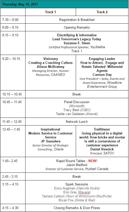 Conference Day 2 Agenda