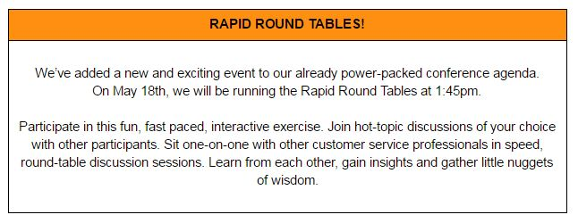 Rapid Round Tables