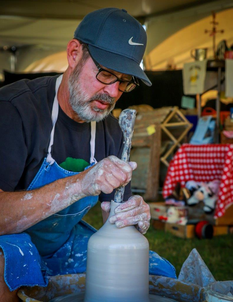Pottery demos, workshops