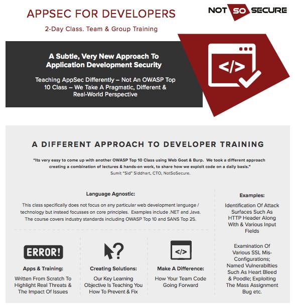 AppSec for Dev1