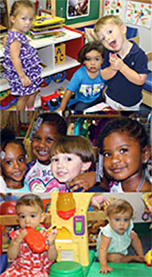 Children at Mid-Shore Early Learning Center