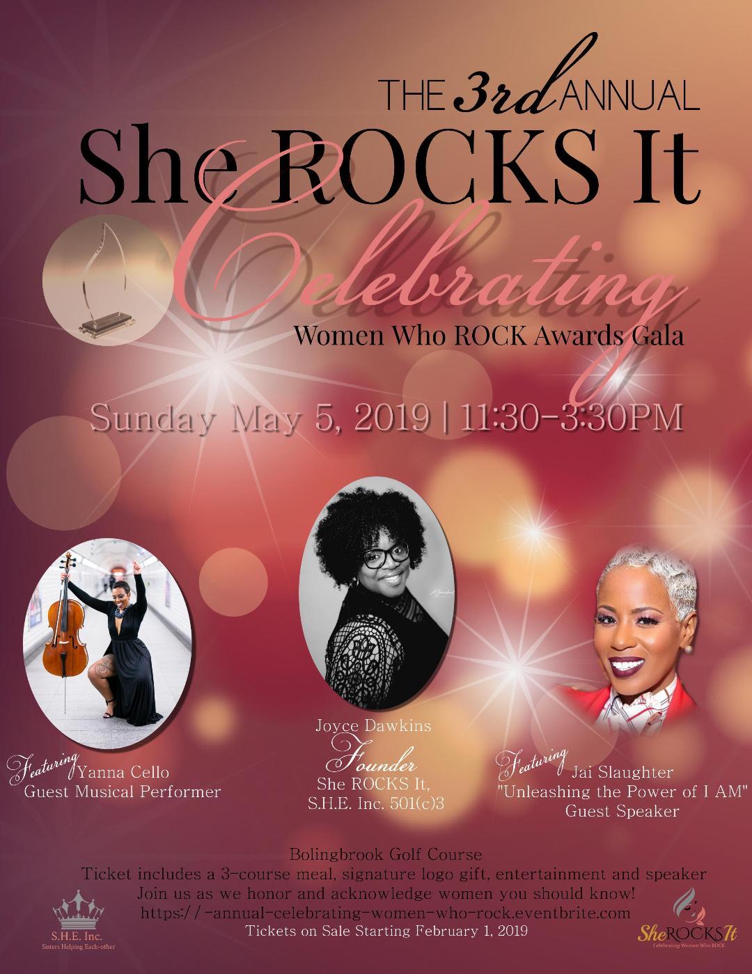 She ROCKS It Official Flyer