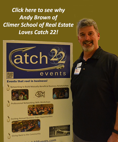 Climer School of Real Estate Loves Catch 22 Events