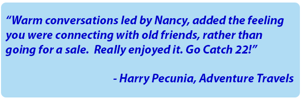 Harry Pecunia Testimonial