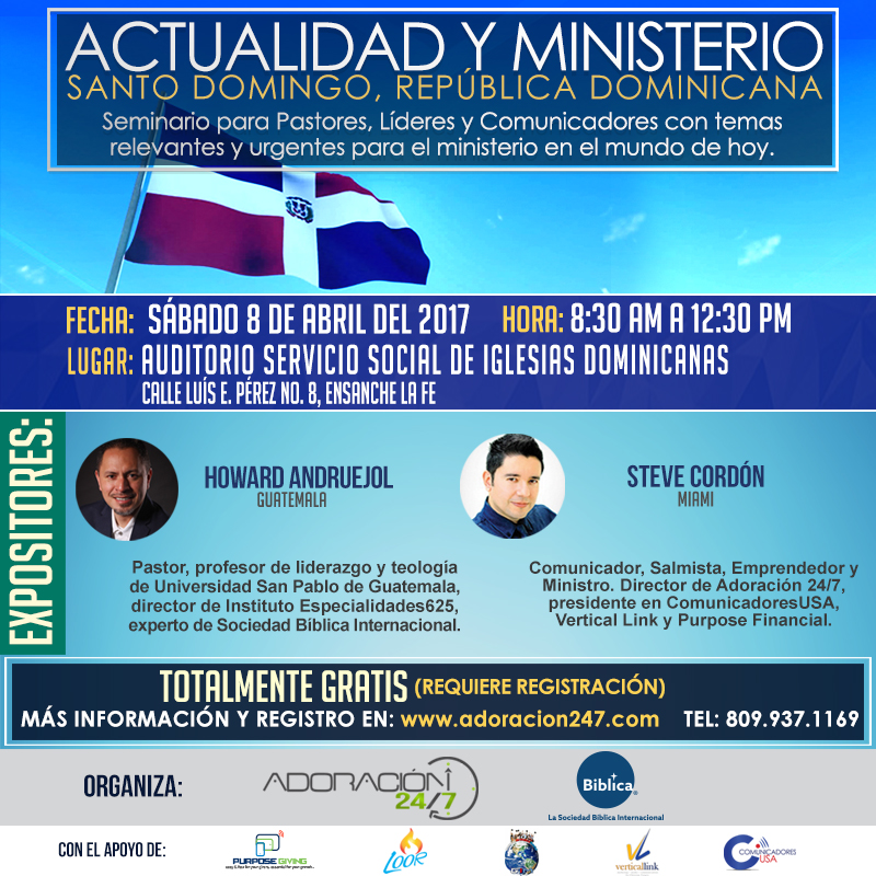 Adoracion 24/7 Republica Dominicana 2017