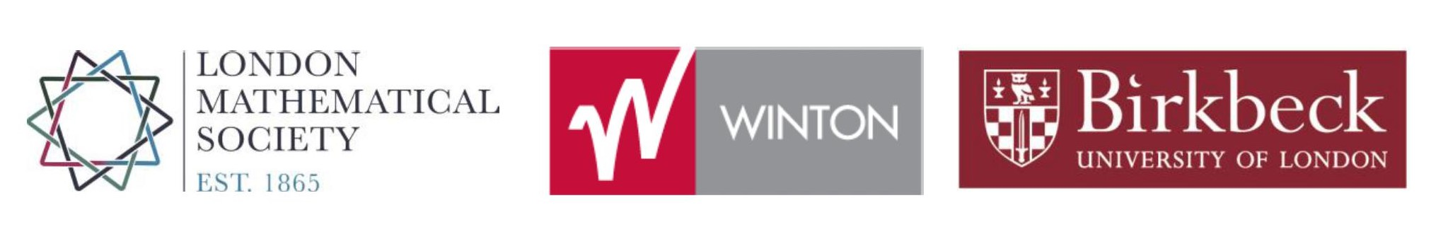 LMS, Winton and Birkbeck Logos