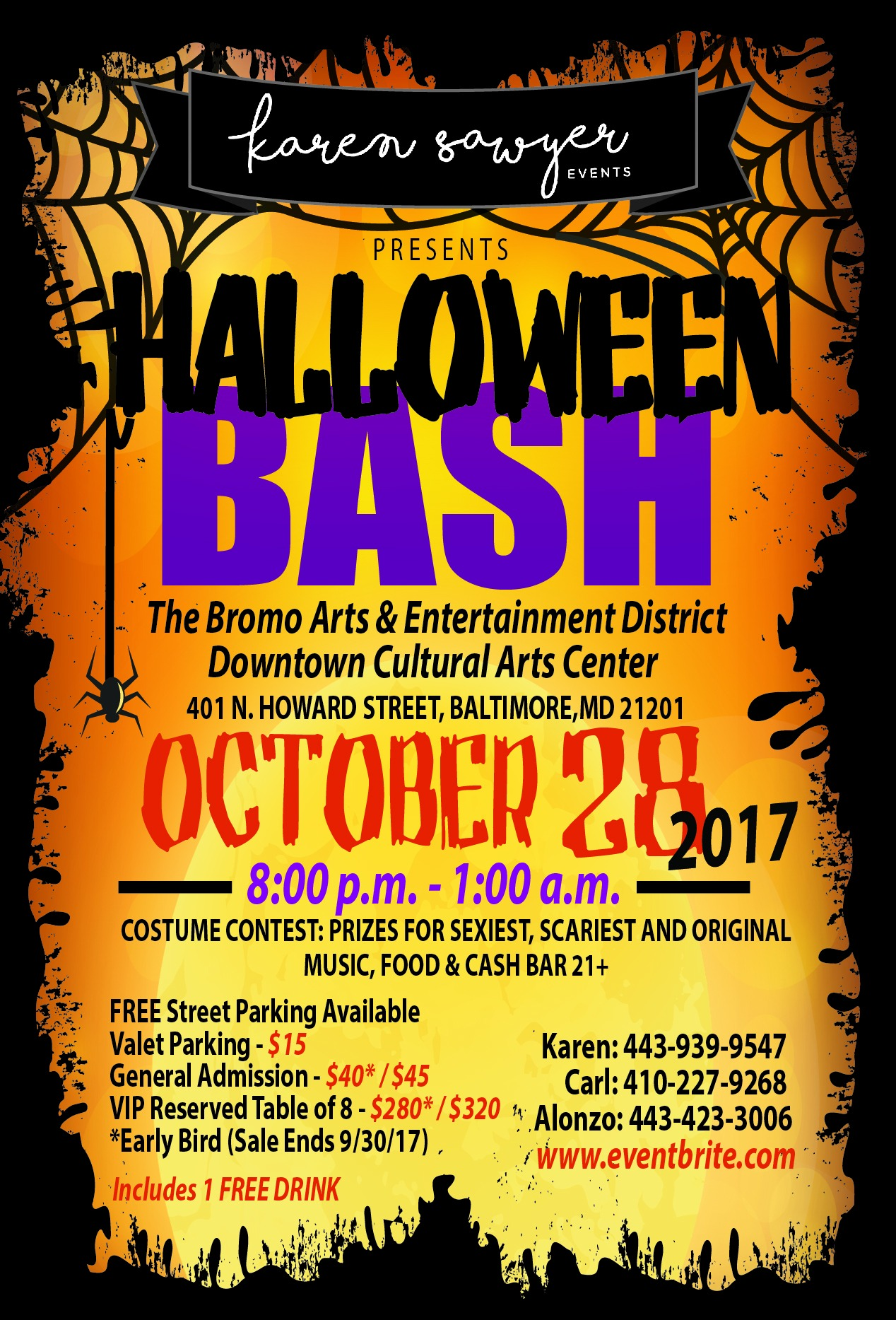 Halloween Bash 2017: Costume Party Tickets, Sat, Oct 28, 2017 at 8 ...