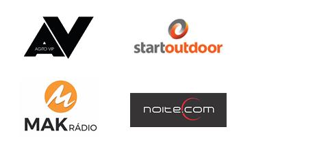 Empresas de mídia que apoiam o Papo Empreendedor