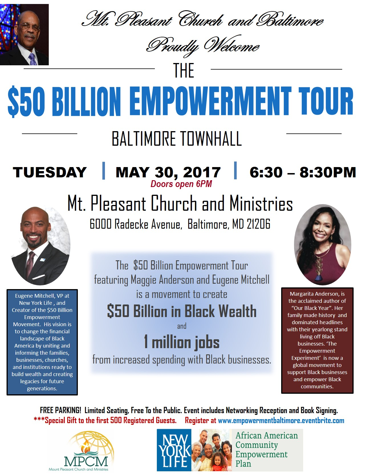 May 30 The 50Billion Empowerment Tour comes to Baltimore