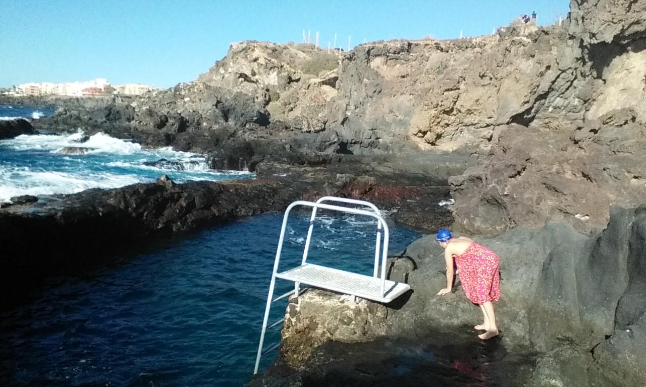 Wild Swimming Tenerife Los Abrigos PaollaG