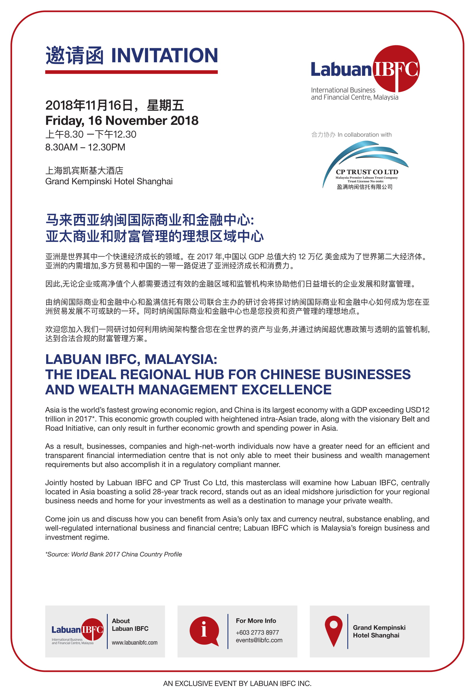 Labuan IBFC, Malaysia: The Ideal Regional Hub for Chinese
