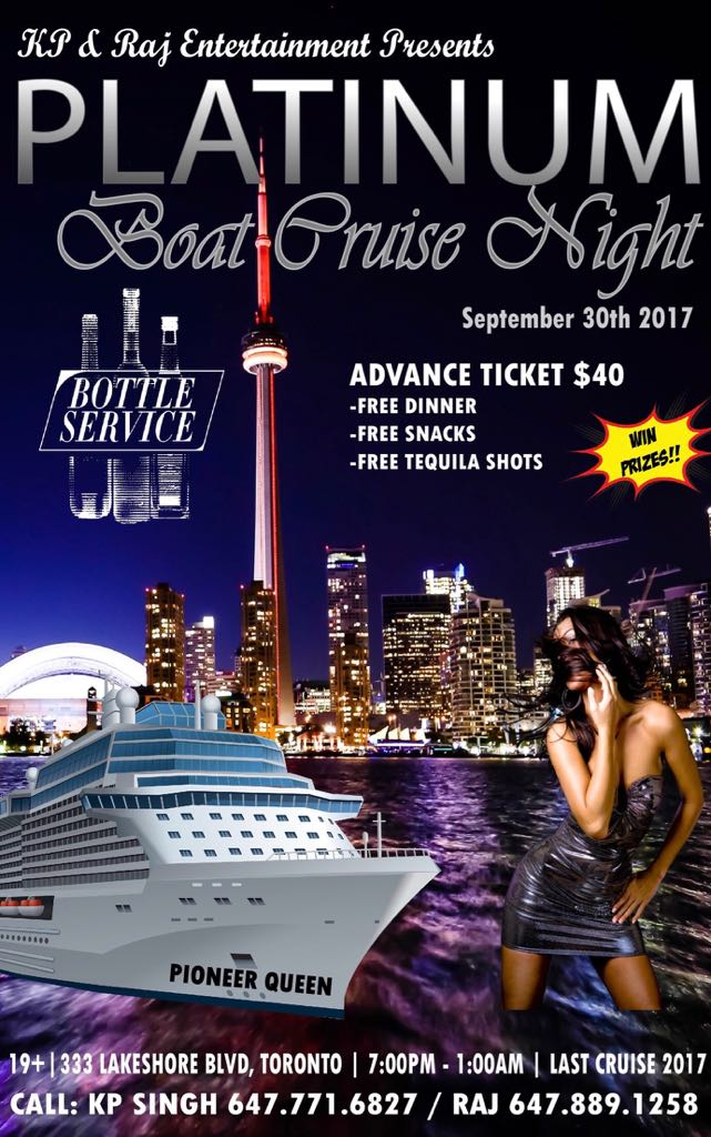 Platinum Boat Cruise Night