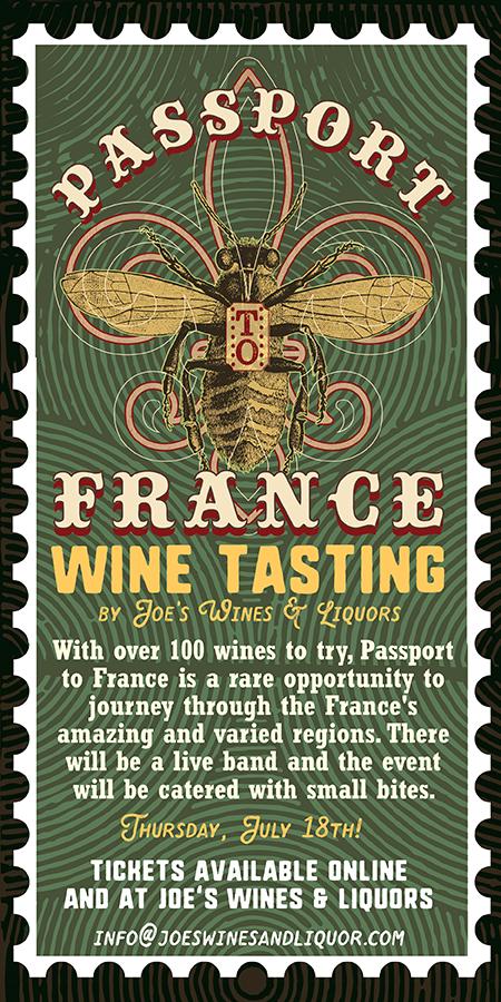 Joe's Passport to France 2019