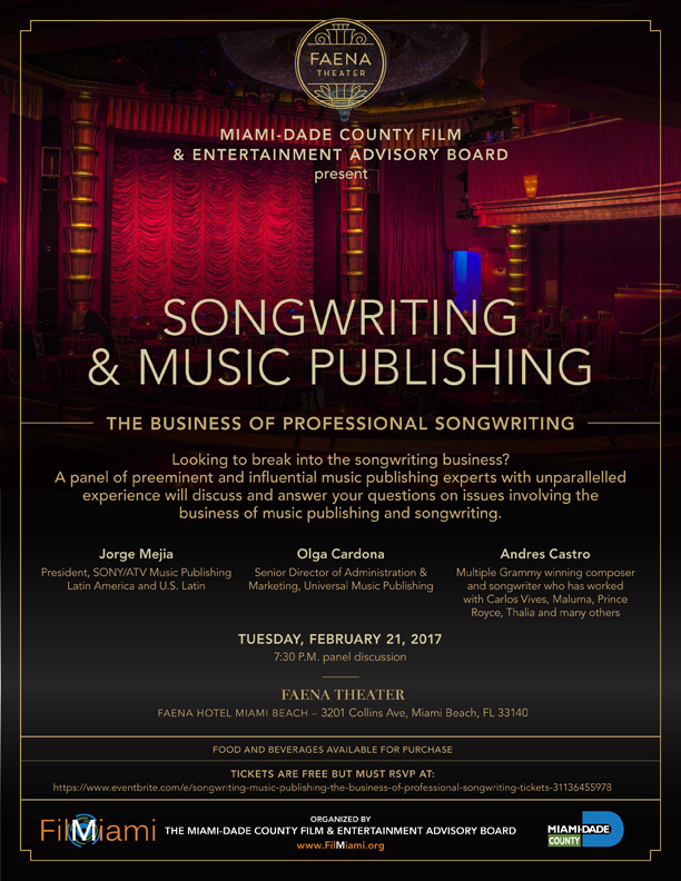 Film and Entertainment Advisory Board Music Event