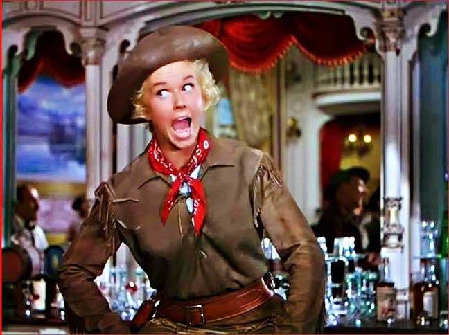Doris Day as Calamity Jane