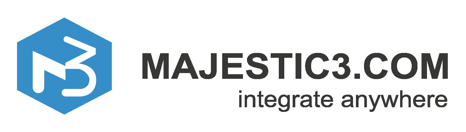 Majectic3 logo