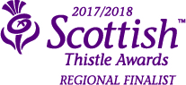 Scottish Thistle Award Regional Finalist logo