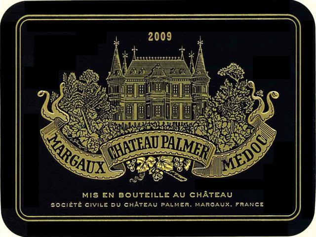 Palmer Wine Label