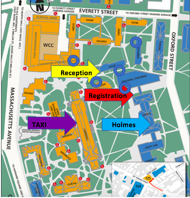 Map of Holmes Field & Key Areas