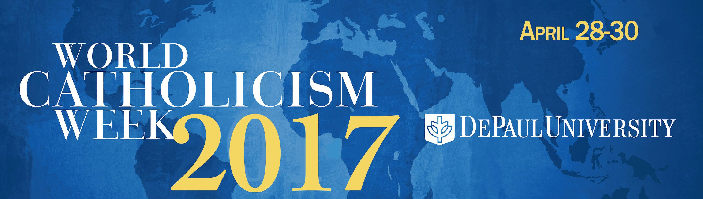 Logo for World Catholicism Week 2017