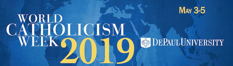 Logo for World Catholicism Week 2019